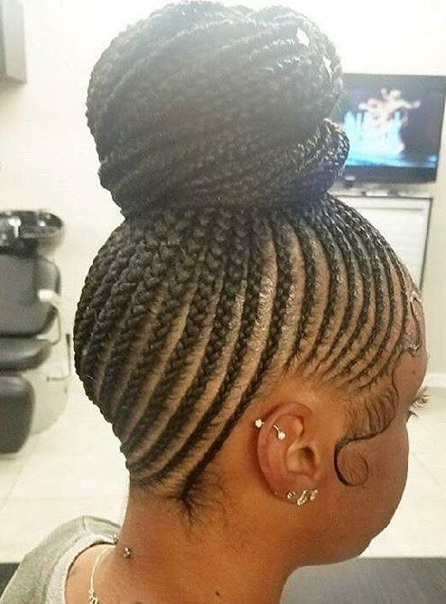Braided Bun Make This Your Next Hairstyle